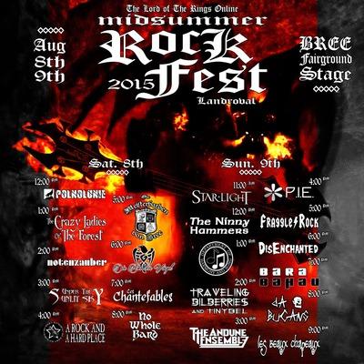 Participez au Rockfest samedi 8 et dimanche 9 août sur Landroval