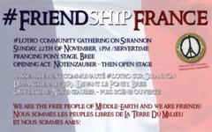 Friendship France : Suite de la Mobilisation