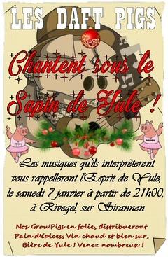 Concert des Daft Pigs, commençons l'année en musique