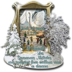 Les Savoureuses Mélodies en concert le 12 janvier à 21h00