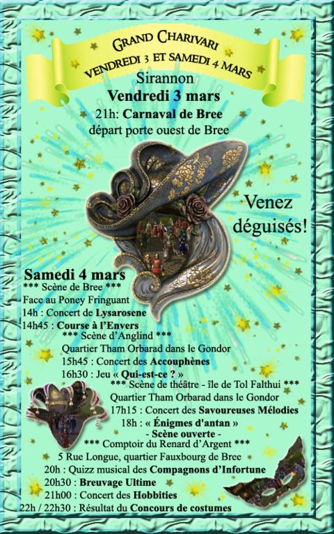 Le Seigneur des Anneaux Online - Animation serveur : Venez assister et participer au grand Charivari les 3 et 4 mars