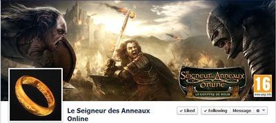 Nouvelle page facebook francophone pour lotro