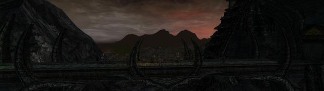 un aperçu de la Porte Noire