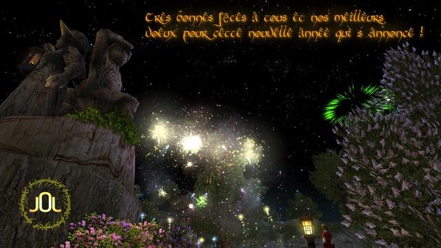 Une très bonne année à tous et que la bénédiction des Peuples Libres vous accompagne