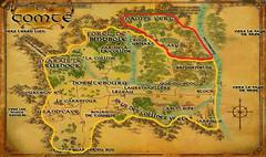 Carte de la Comté