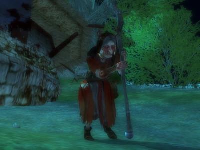 La  vieille dame de la montagne