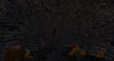 Entrée de la caverne de Draigoch