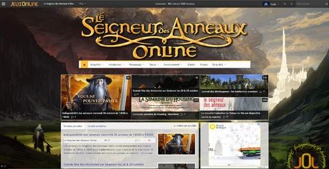 Le Seigneur des Anneaux Online - La section Lotro refait sa déco !