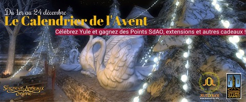 Le Seigneur des Anneaux Online - Calendrier de l'Avent : le concours de Yule revient