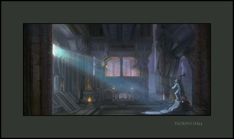 Découvrons la Terre du Milieu: le Hall de Thorin!