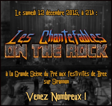 """Les Chantefables """"On the Rock"""" un concert plein de saveurs à savourer le 12 décembre"""