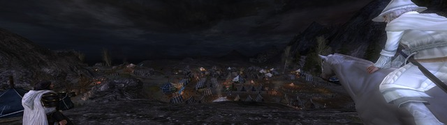 Aragorn devant la plaine de Dagorlad