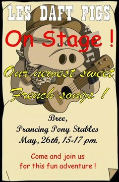 Les Daft Pigs s'exportent sur Landroval - concert vendredi 26 mai