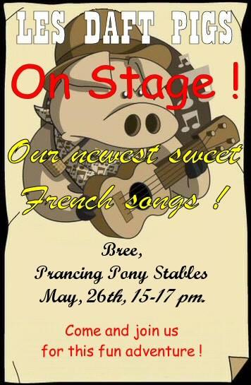 Le Seigneur des Anneaux Online - Les Daft Pigs s'exportent sur Landroval - concert vendredi 26 mai