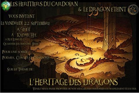 Le Seigneur des Anneaux Online - Soirée RP : L'héritage des dragons, une soirée à conter ou à savourer le 22 septembre