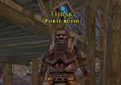"""Thrak, """"gardien des cadeaux"""" du Pied de Gram"""