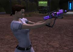 Nouveau pistolet laser