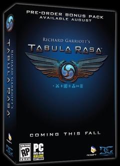 La sortie se précise pour Tabula Rasa
