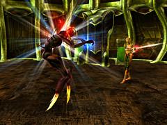 Capture d'écran du jeu « AVANT » sa refonte totale en 2005.
