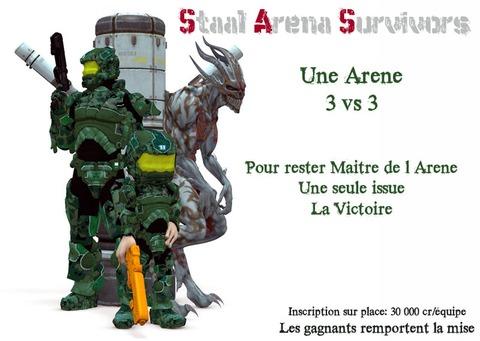 Événement Staal Arena Survivors 2ème édition, le 1er Fev. 08 !