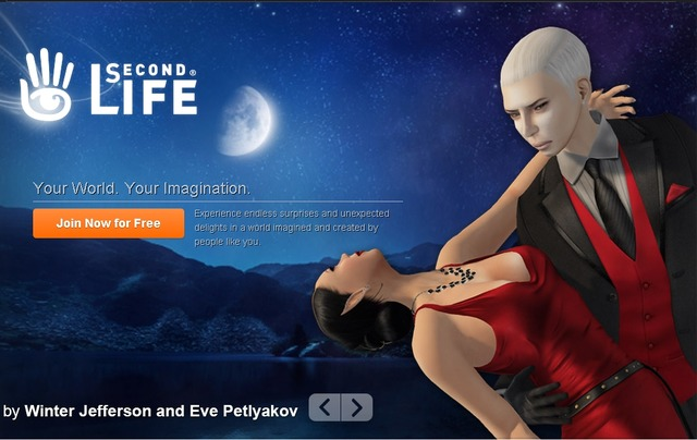 Site officiel Second Life