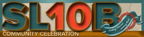 Second Life - SL10B : Second Life se prépare à fêter ses 10 ans