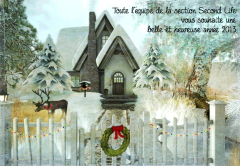 Second Life - Edition de janvier 2013 de la Lettre de JeuxOnLine