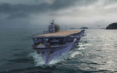 World of Warships présente ses porte-avions