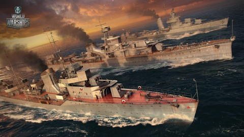 World of Warships - Les flottes soviétique et allemande de World of Warships accostent le 19 octobre