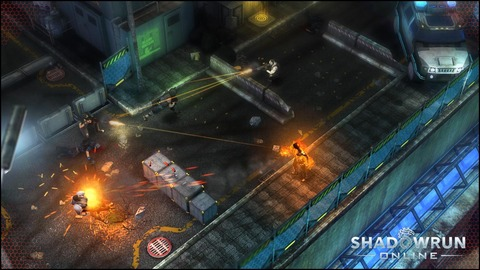 Shadowrun Chronicles - Shadowrun Online en accès anticipé le 31 mars