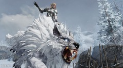 Lion des neiges