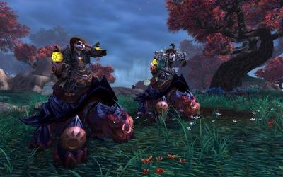 La monture des pandarens dévoilée : la tortue-dragon