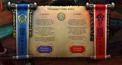 Les pandarens doivent choisir entre la Horde et l'Alliance