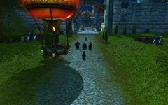 Arrivée des pandarens à Hurlevent