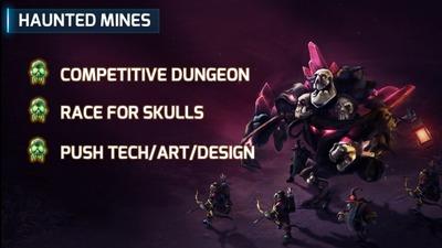 Les mines hantées