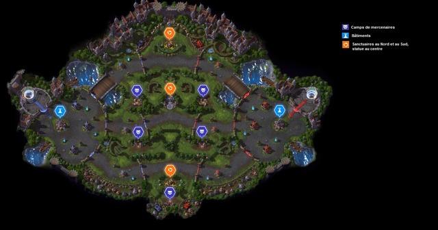 Carte Comté du Dragon