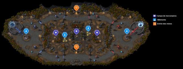 Carte Mines hantées