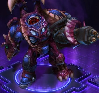 Tychus, apparence contaminé