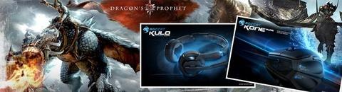 Jeu-concours : des périphériques Roccat et des goodies aux couleurs de Dragon's Prophet à gagner