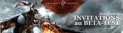 300 invitations supplémentaires au bêta-test de Dragon's Prophet à gagner