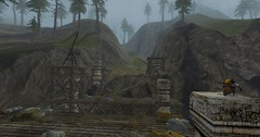 Eh non, le pont non loin de Stangarde n'est pas terminé
