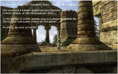 L'épopée de Théobraid sur Sirannon