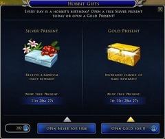Les cadeaux hobbits