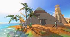 Ménaphos, la cité d'or, est accessible dans RuneScape
