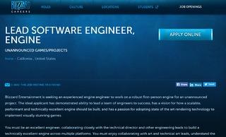 Blizzard recrute des spécialistes de FPS et étend son équipe « Diablo »