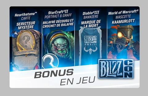 Blizzard Entertainment - Les bonus liés aux tickets virtuels de la BlizzCon dévoilés