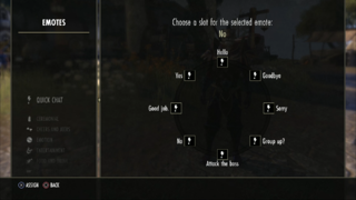 Selection discussion rapide TESO Console