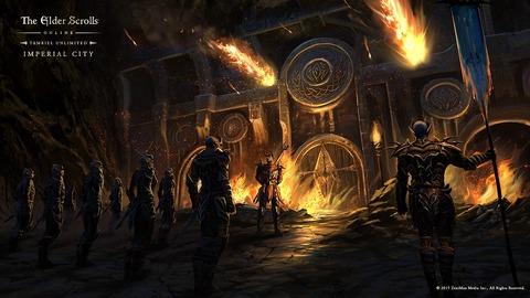 The Elder Scrolls Online - La Cité Impériale