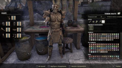 The Elder Scrolls Online - Les teintures
