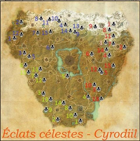 Éclats Célestes : Cyrodiil